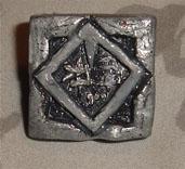 Shin-Ra Electric Compay Pin. by daunted