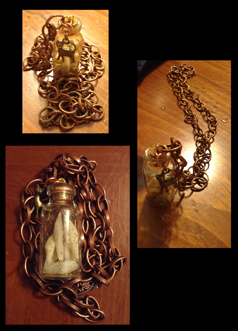 Steam Punk Necklace View Two by BlackStray