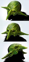 Goblin mask by DenisPolyakov
