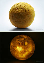 Moon (night light) by DenisPolyakov