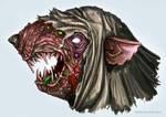 Mask Pestilens skaven (sketch)