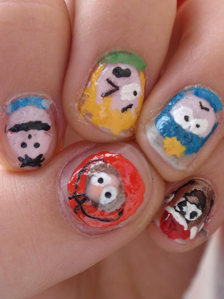 South Park Nails 2 By Ninails On Deviantart
