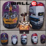 wall-e fake nails