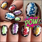 'pow' nails
