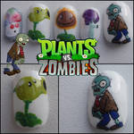 plants vs zombies nails