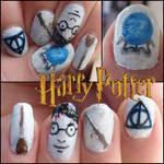 harry potter nails 3