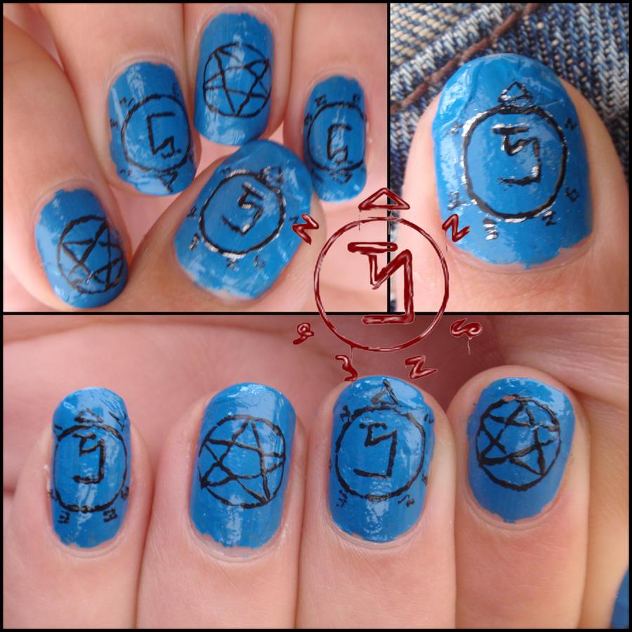 supernatural nails by Ninails