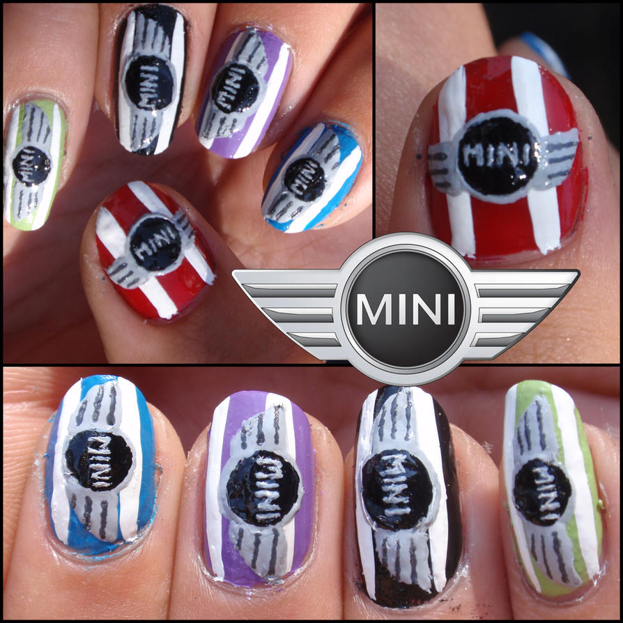 Mini Cooper Nails By Ninails On Deviantart