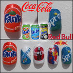 Soft drinks nails