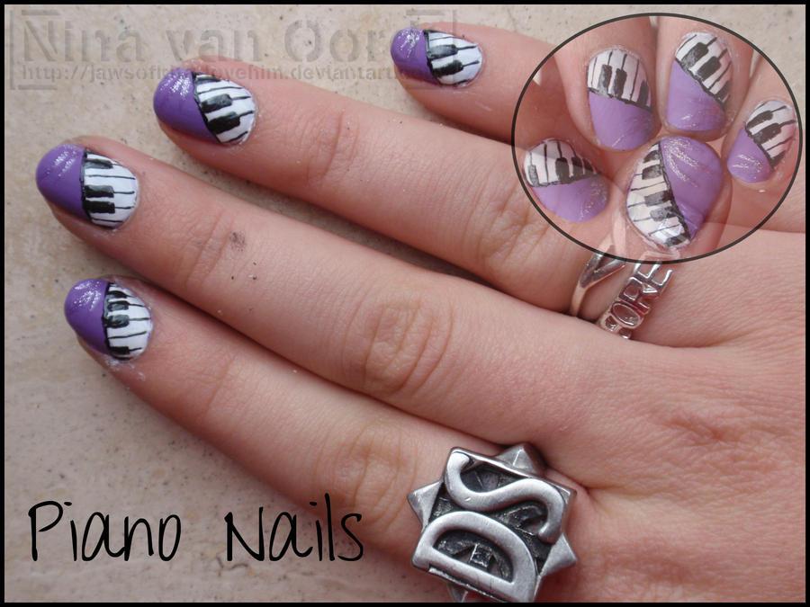 Piano nails by ninails on deviantart piano nails by ninails prinsesfo Images