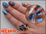 Finding Nemo nails