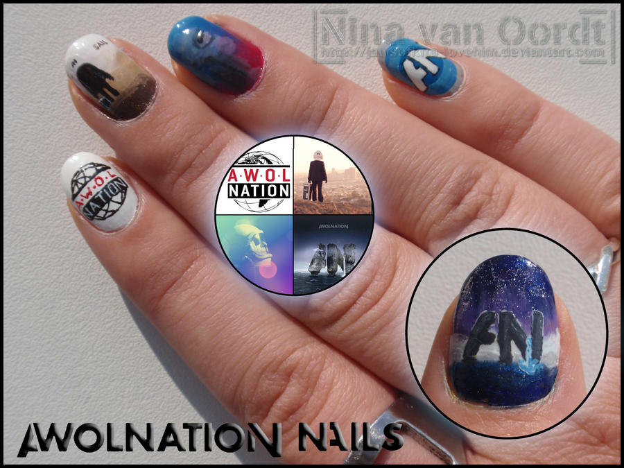 Awolnation nails 1 by Ninails