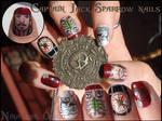 Captain Jack Sparrow nails