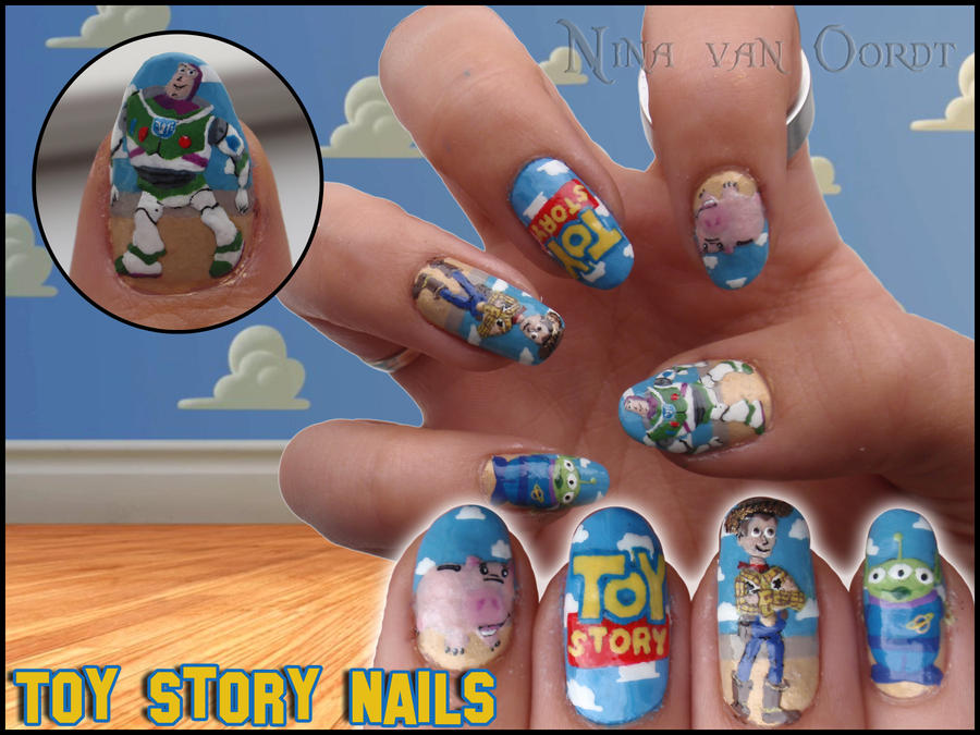 Toy story nails by Ninails on DeviantArt