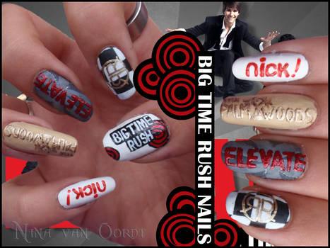 Big time rush nails