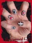 Playing Card Nails by Ninails