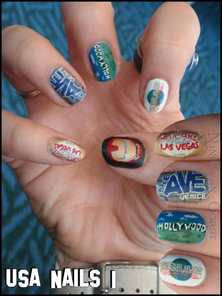 USA Nails 1 By Ninails On DeviantArt