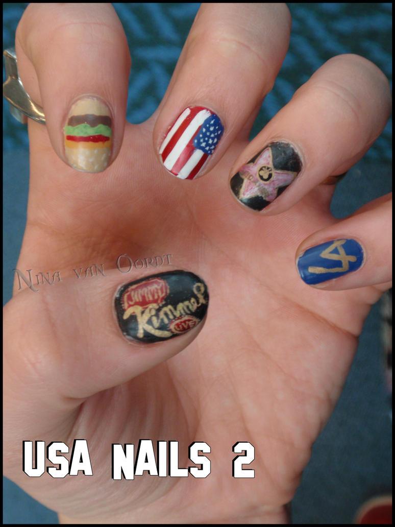 USA Nails 2 By Ninails On DeviantArt