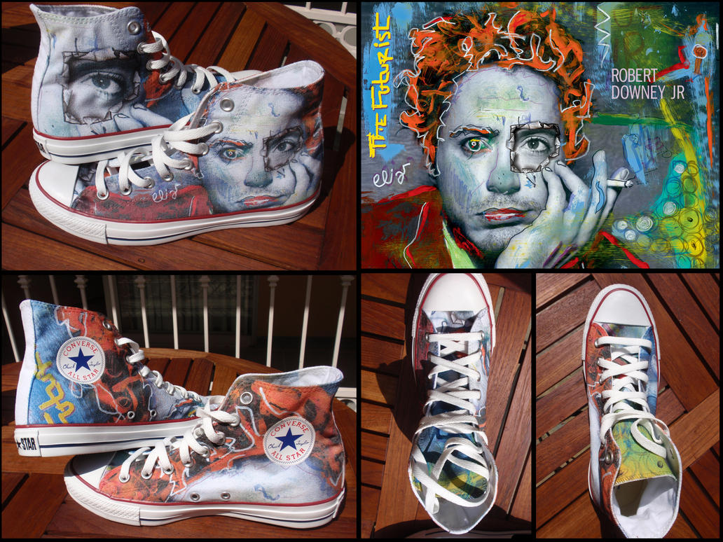 Robert Downey Jr. Shoes by Ninails