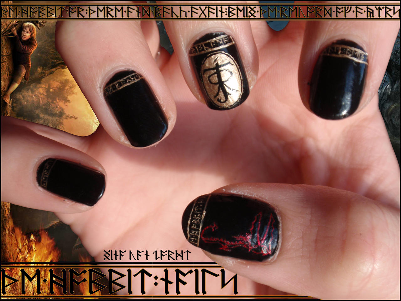 The hobbit nails by ninails on deviantart the hobbit nails by ninails the hobbit nails by ninails prinsesfo Images