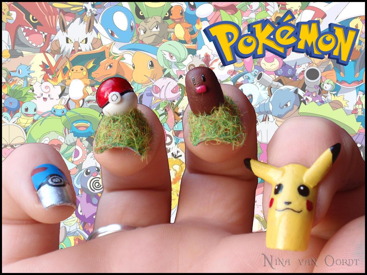 Pokemon Nails by Ninails on DeviantArt