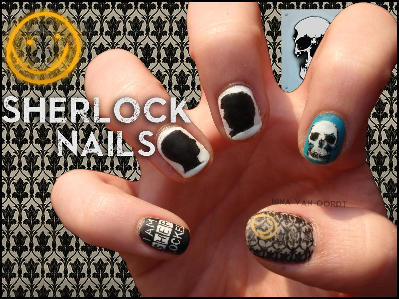 Death note nail art. by smamz on DeviantArt