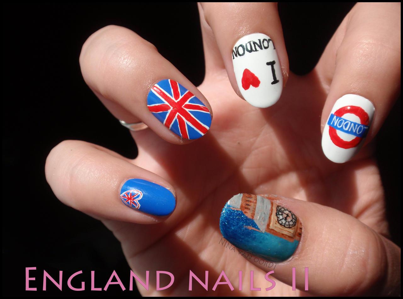 England Nails2 By Ninails On Deviantart