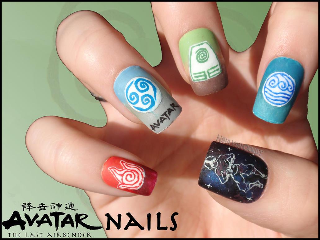 Avatar Nails By Ninails On Deviantart