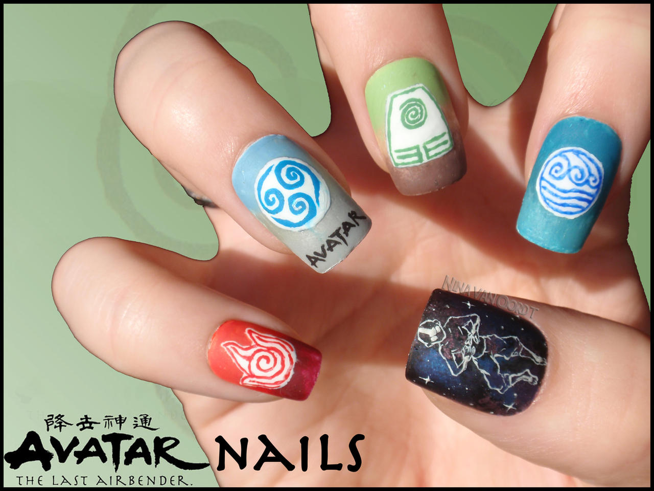 Anime Nails on Geek-Nails - DeviantArt