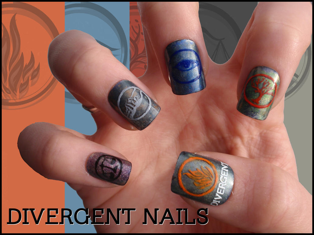 Divergent Nails By Ninails On Deviantart