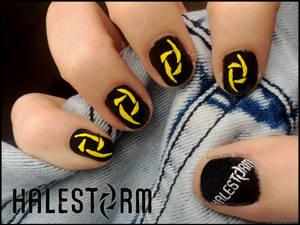 Halestorm Nails