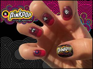 Pinkpop Nails