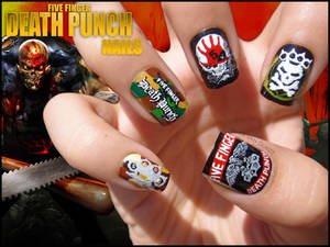 Five Finger Death Punch Nails