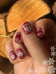 Christmas 2020 Nail art