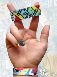 SLOTH inspired Nail art pt. II