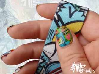 SLOTH inspired Nail art pt. V