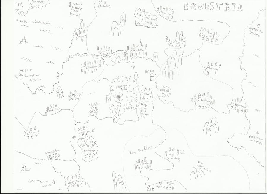 Map Of Equestria by SnowyZo3