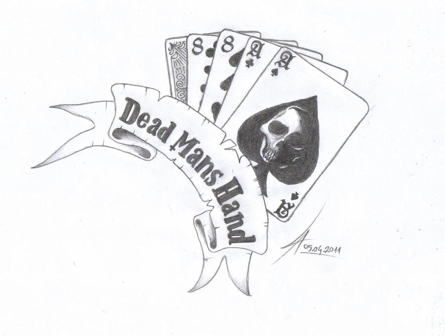 Dead ManS Hand Tattoo