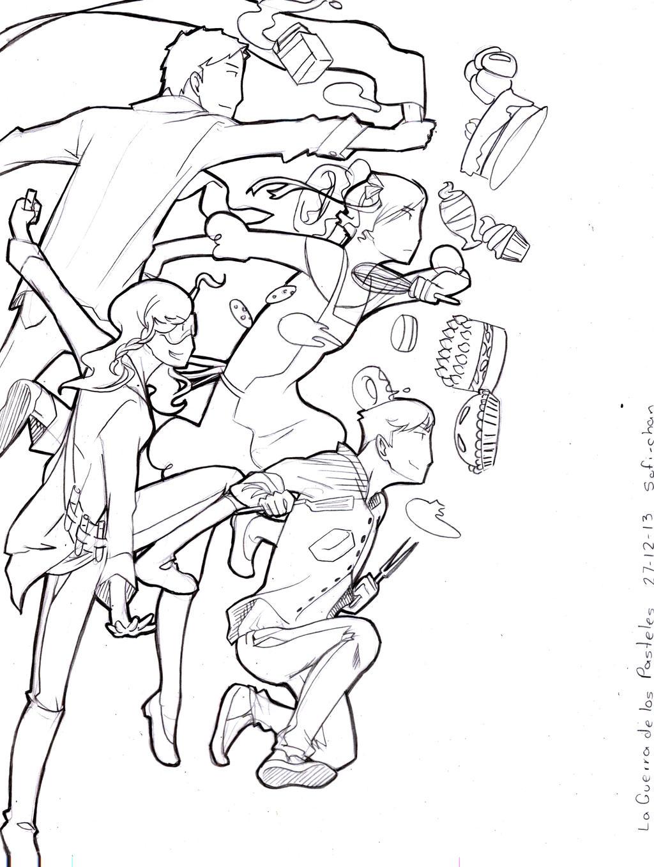 Guerra de los pasteles by Sofi-chan on DeviantArt
