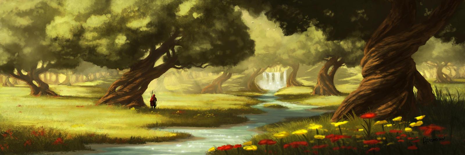 Shady Grove by AnthonyPismarov