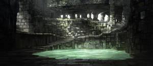 Labyrinth - Interior Environment Concept