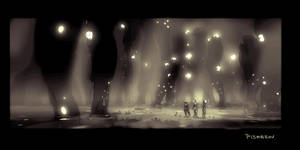 Wanderers Environment Concept Sketch