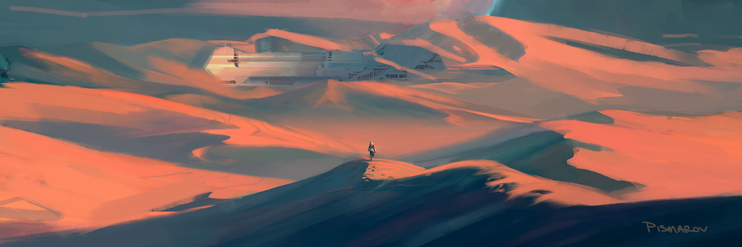 Desert Environment Color Concept Num. 2