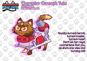 Supersonic Tank Cats character sheet: Tutu by molegato