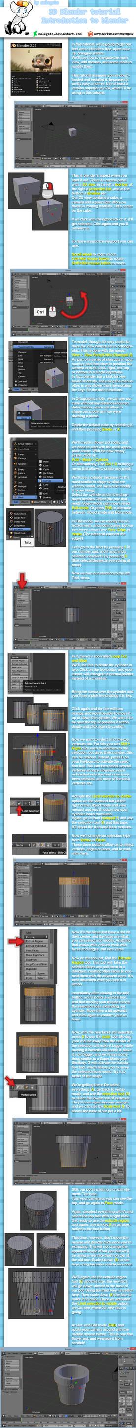 Blender tutorial 1: Introduction