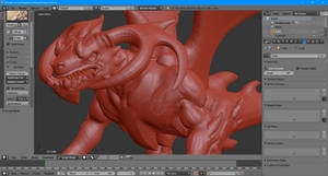 WIP: The learn-to-sculpt dragon