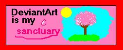 DA is my santuary stamp by GingaKiba16