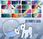 Canine color palette gacha  [CLOSED]
