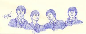 The Beatles by ZeroChanges