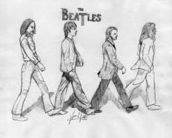 The Beatles Abbey Road by ZeroChanges